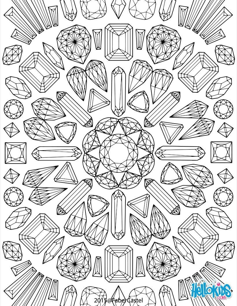 Mandala Graphics Worksheet Adult Coloring Is Art Pinterest