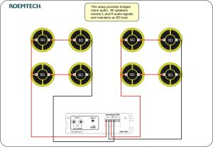 Classroom Audio Systems  Multiple Speaker Wiring Diagram