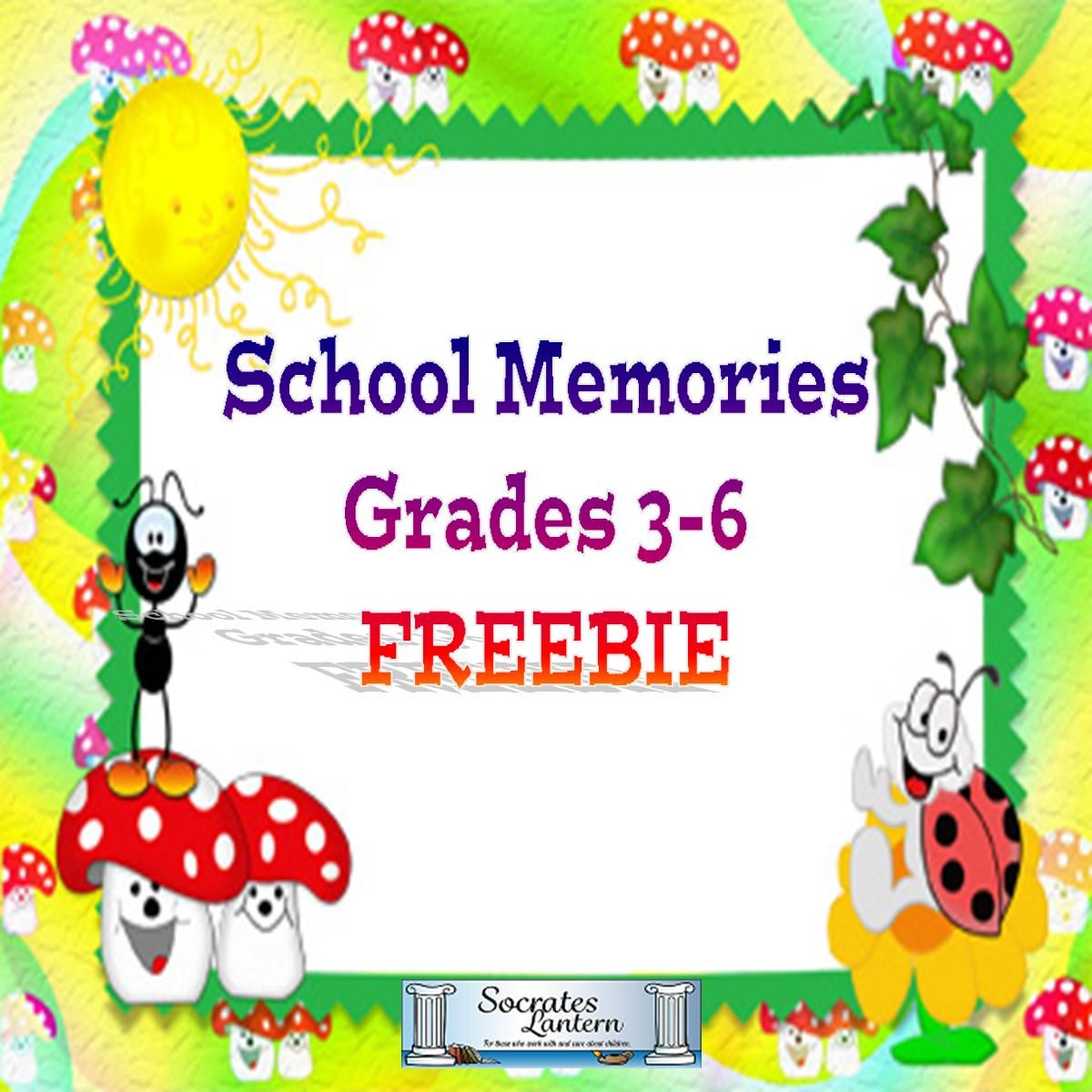This Is An End Of The Year Freebie For Grades 4 6 Called