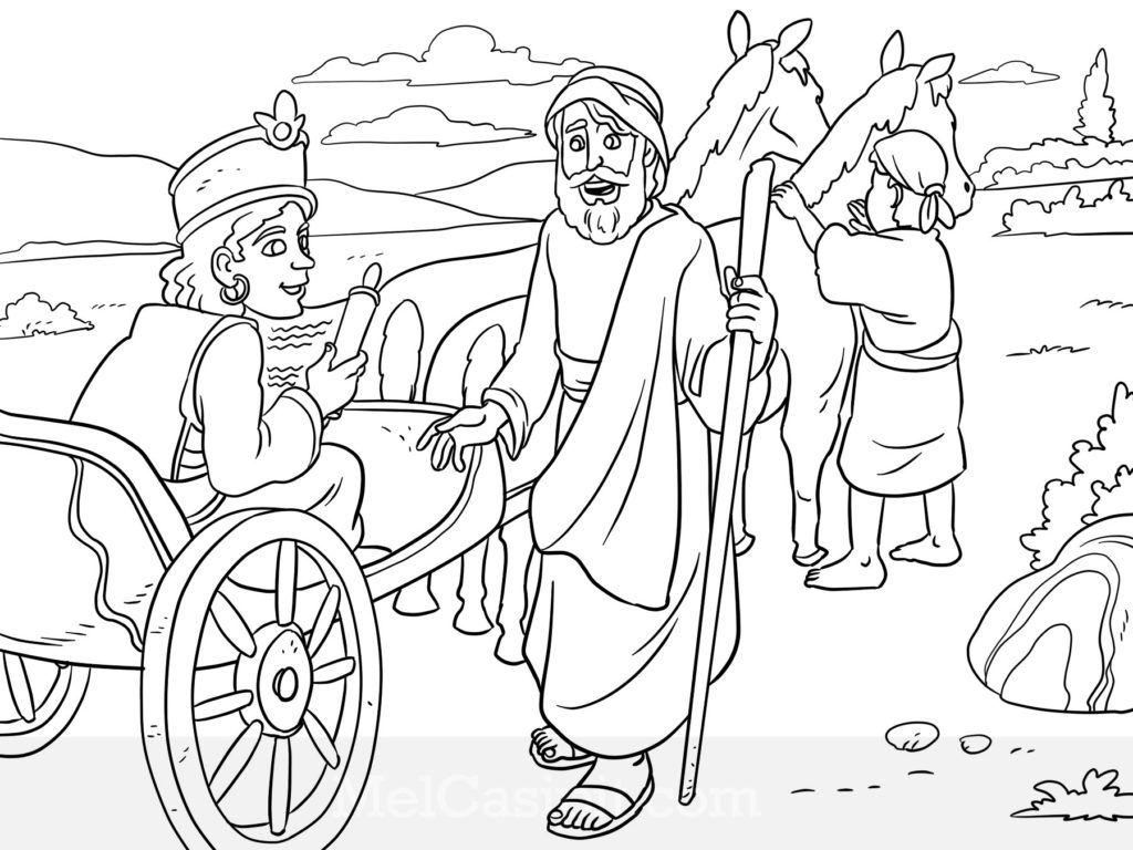 Philip And The Eunuch