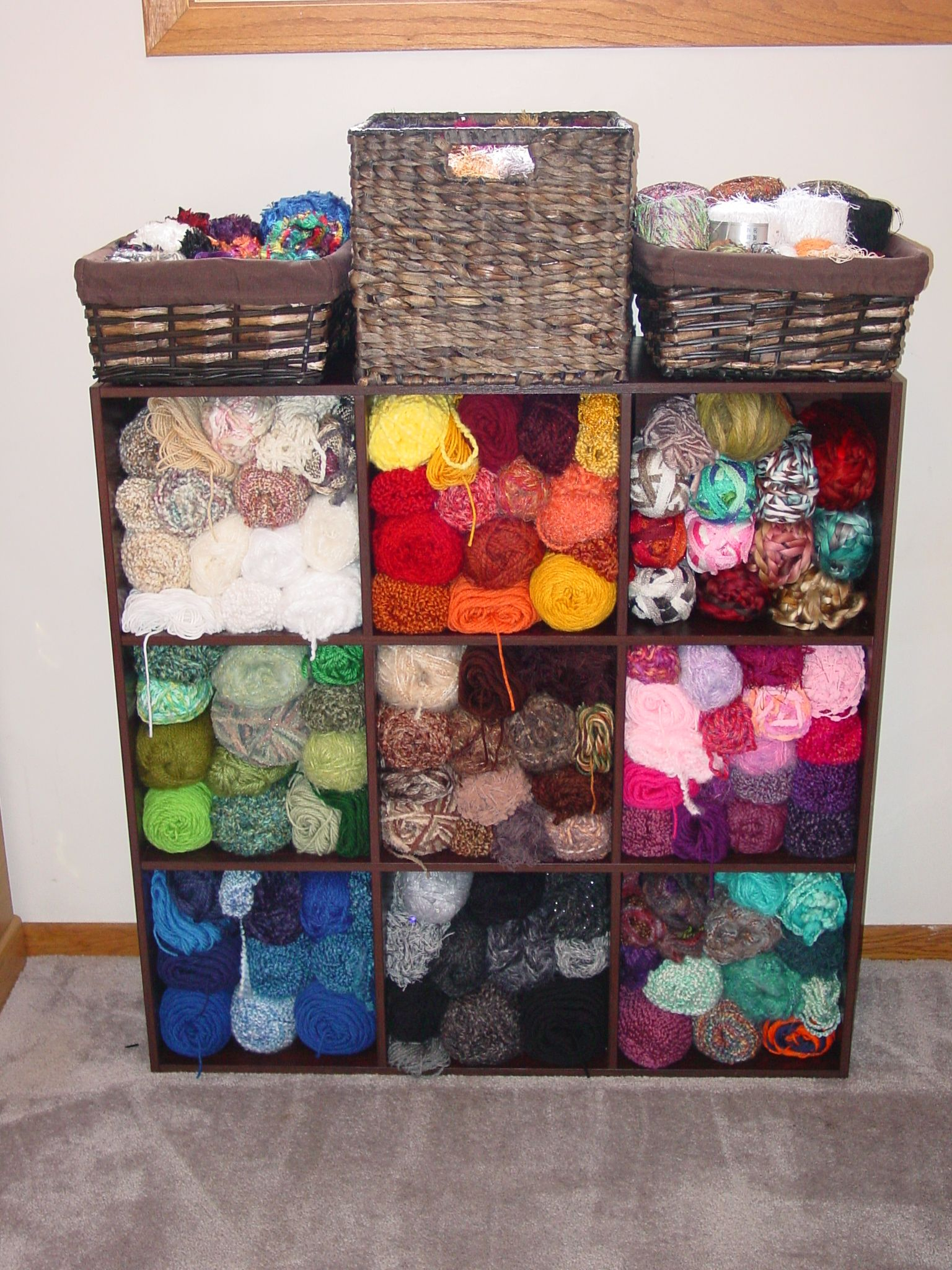 16 Clever Yarn Storage Ideas Life Creatively Organized