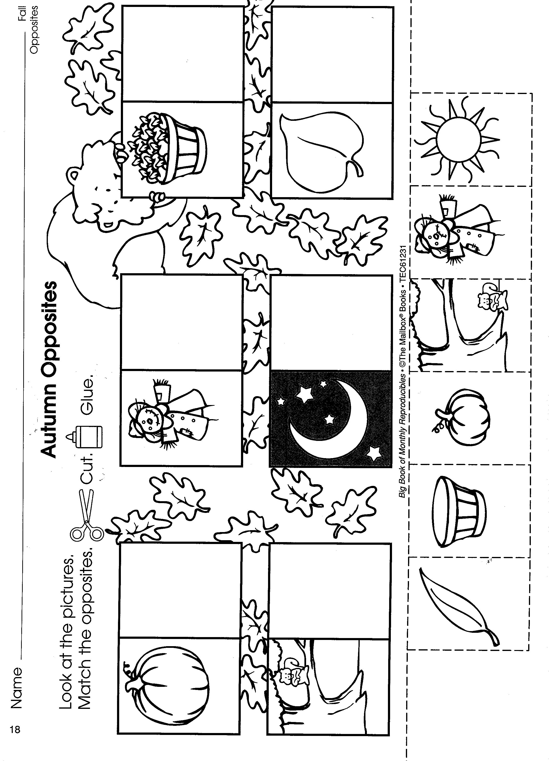 Preschool Printables Search Results For Opposites Dr Seuss Unit