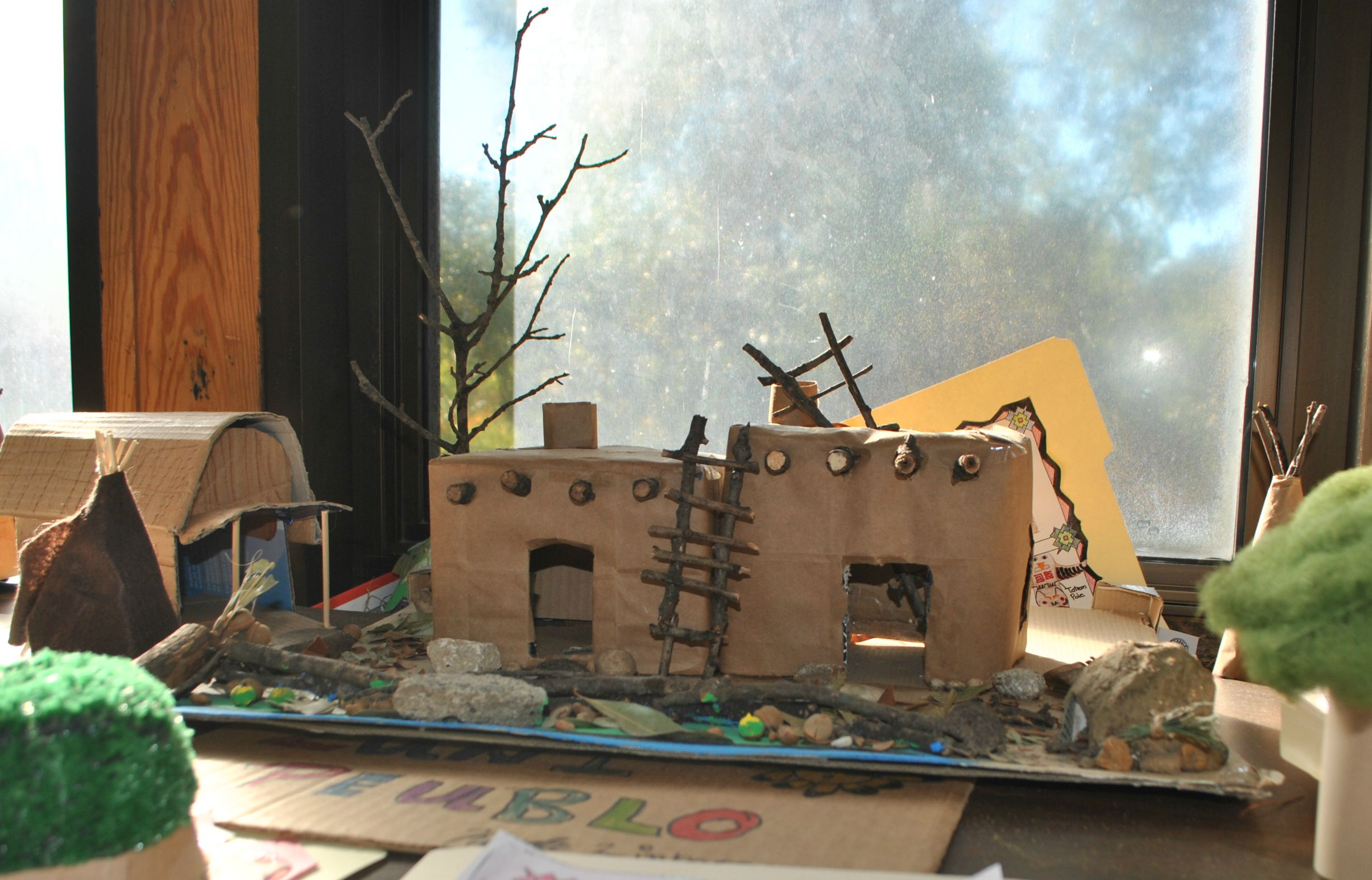 Fourth Grade Project Living With The Native Americans