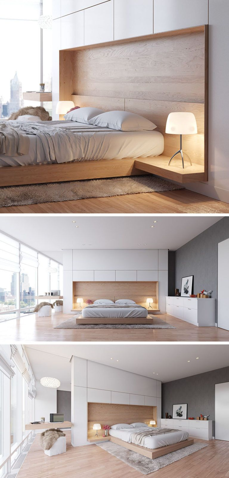 Bedroom Design Idea   Combine Your Bed And Side Table Into One     House      Bedroom Design Idea   Combine Your Bed