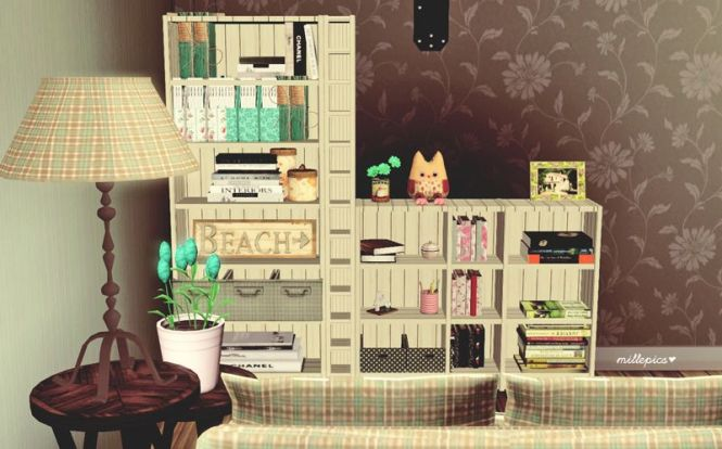 Sims 3 Camille Ikea Shelves 2 To Conversion