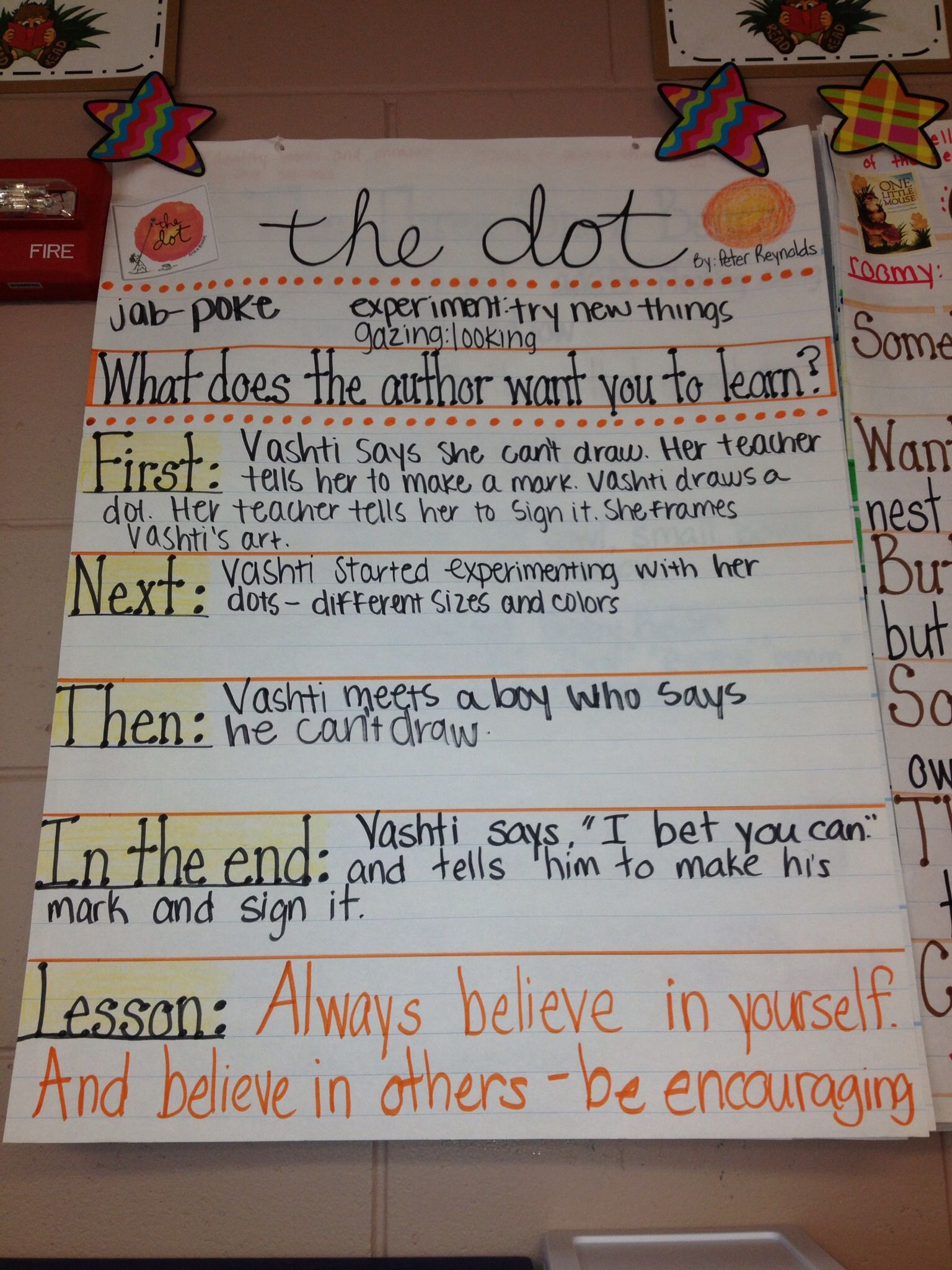 The Dot By Peter Reynolds Rl 1 2