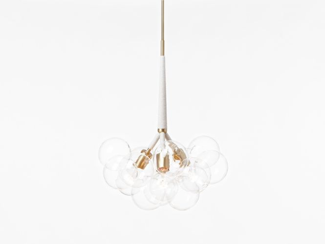 The Original Bubble Chandelier Part Of Expertly Crafted Lighting Series Built To Order In Pelle Nyc Studio Since Diam X H