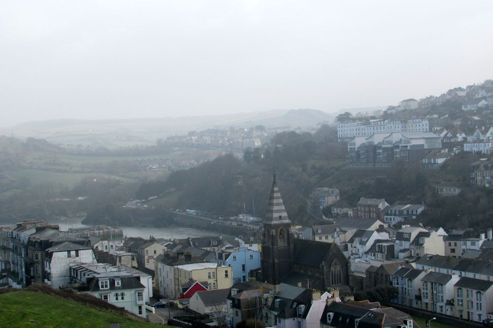 Looking east over Ilfracombe from Capstone Hill