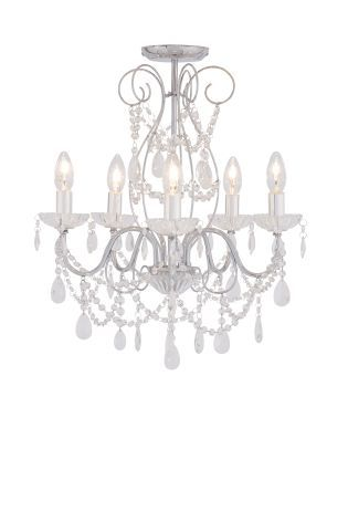 Sophie 5 Light Polished Chrome Chandelier From The Next Uk Online