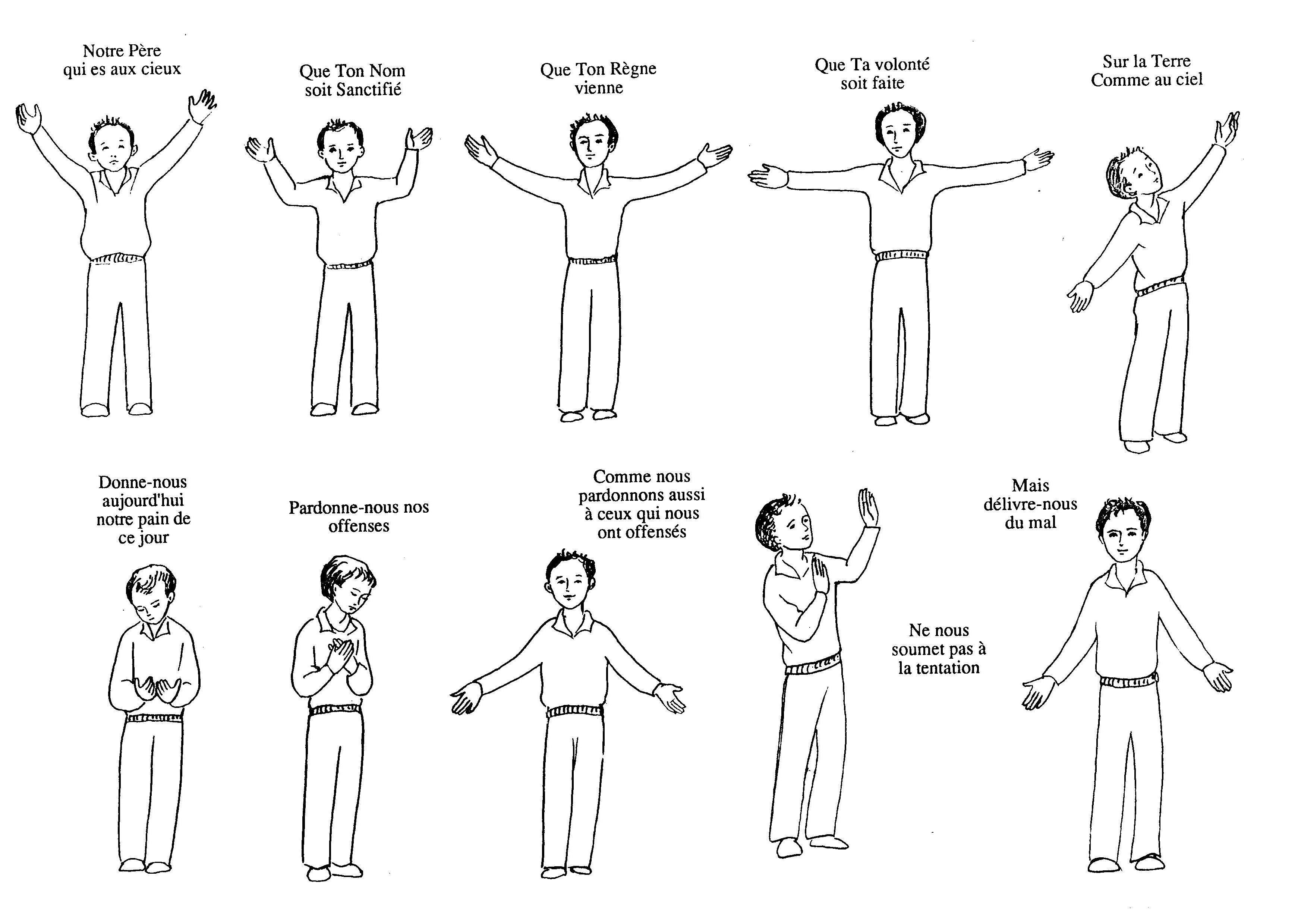 Plusieurs Propositions De Mime Gestuationl Pour Reciter