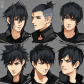 Noct hairstyles by bevnap on deviantart dibujo pinterest