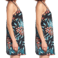 Band of gypsies tropical floral short dress floral shorts tassel