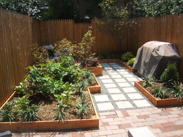 Small Urban backyard total renovation | House Projects ... on Small Urban Patio Ideas  id=37686