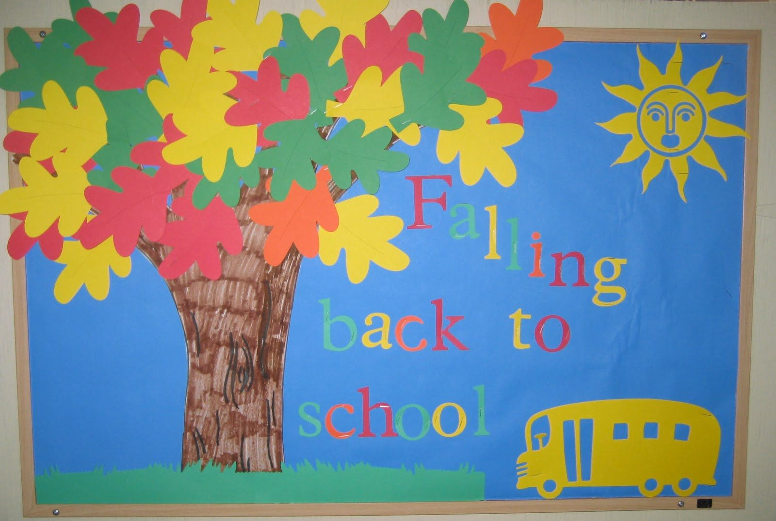 Welcome Back To School Bulletin Boards Ideas