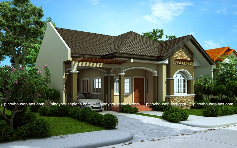 One Storey House Design Phd  Pinoy House Designs Ideas For The House Pinterest House Design Houses And Style