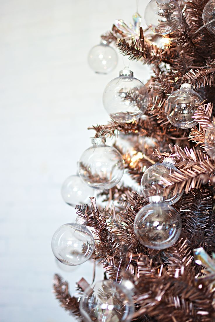 Rose Gold Christmas Tree Ideas Novocom Top