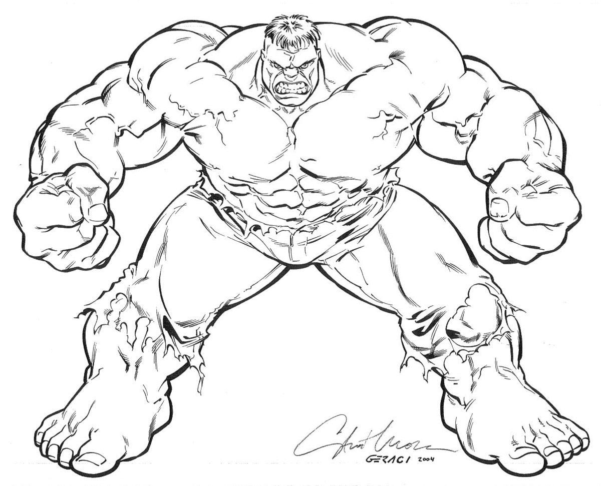 Incredible Hulk Coloring Pages 02