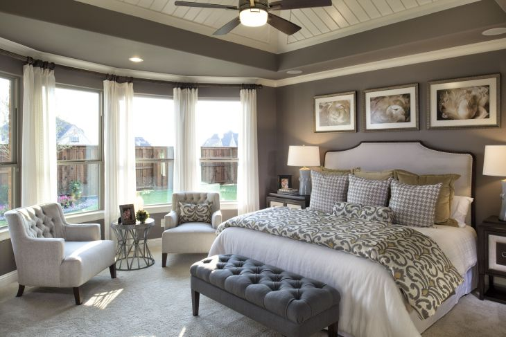 Pure elegance master bedroom  clever ideas to decorate life