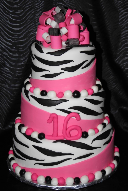 Sweet 16 Cakes For Girls