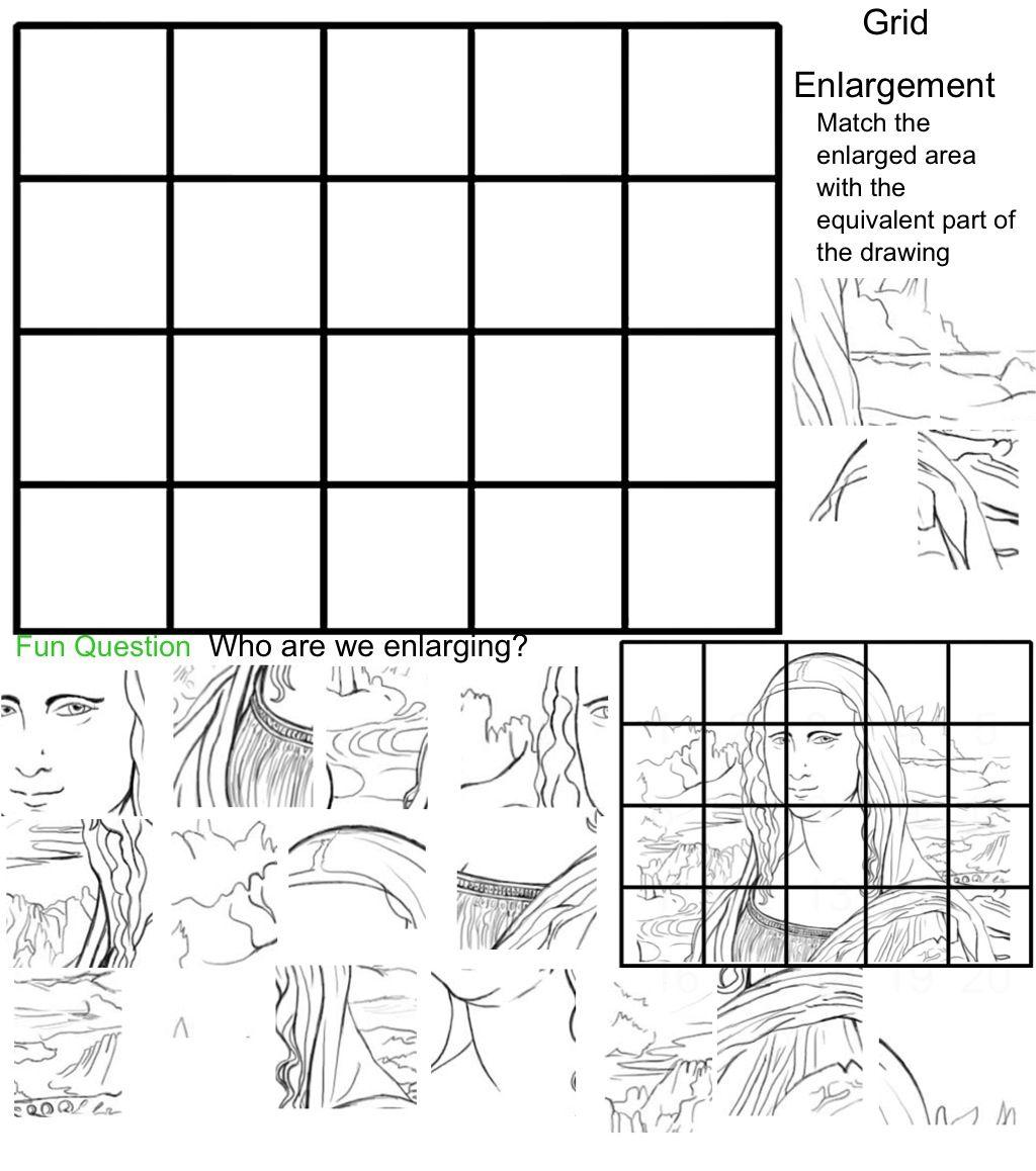 Worksheet Grid Art Worksheets Worksheet Fun Worksheet