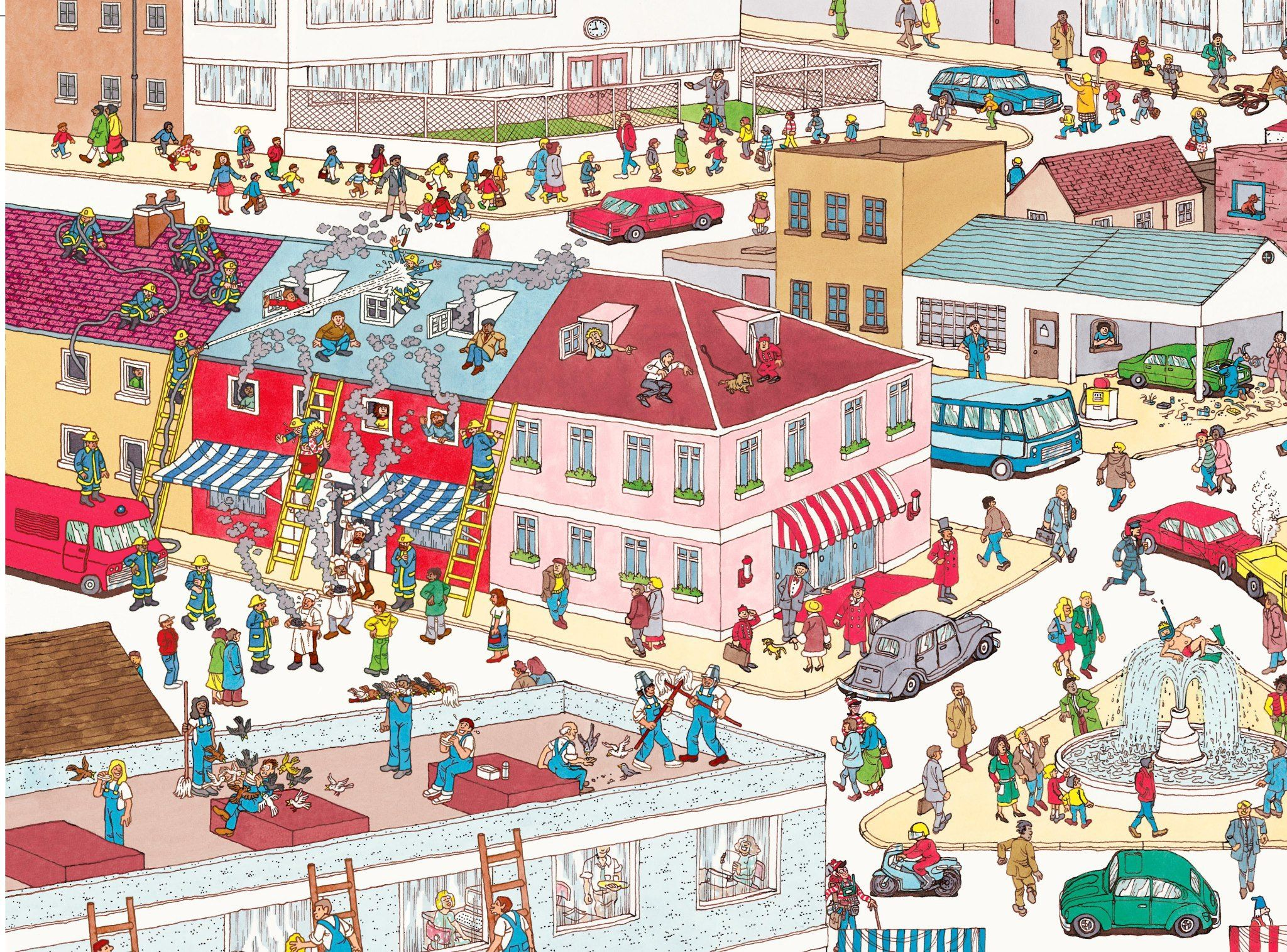 Wheres Wally Preposition Of Place Game