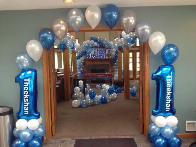 birthday balloon arch how to make