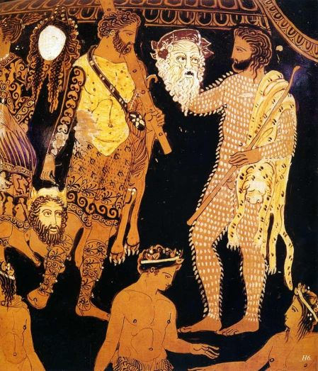 Image result for ancient greek vase actors