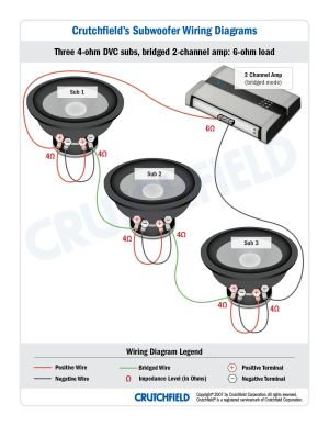 Top 10 Subwoofer Wiring Diagram Free Download 3 DVC 4 Ohm