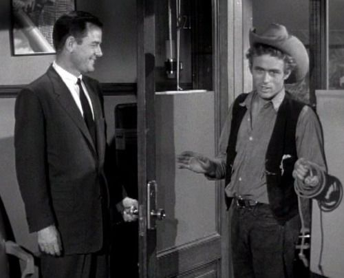 Image result for james dean and gig young commercial