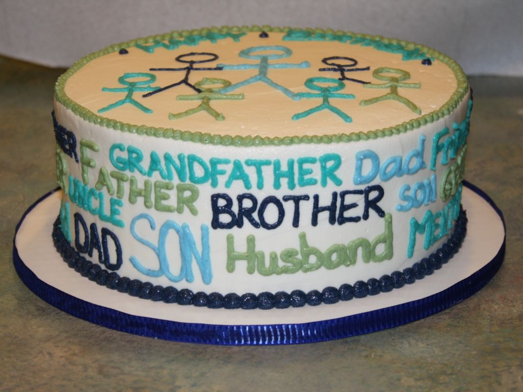 Husband Birthday Cake Gt Great Decorating Idea For Daddy