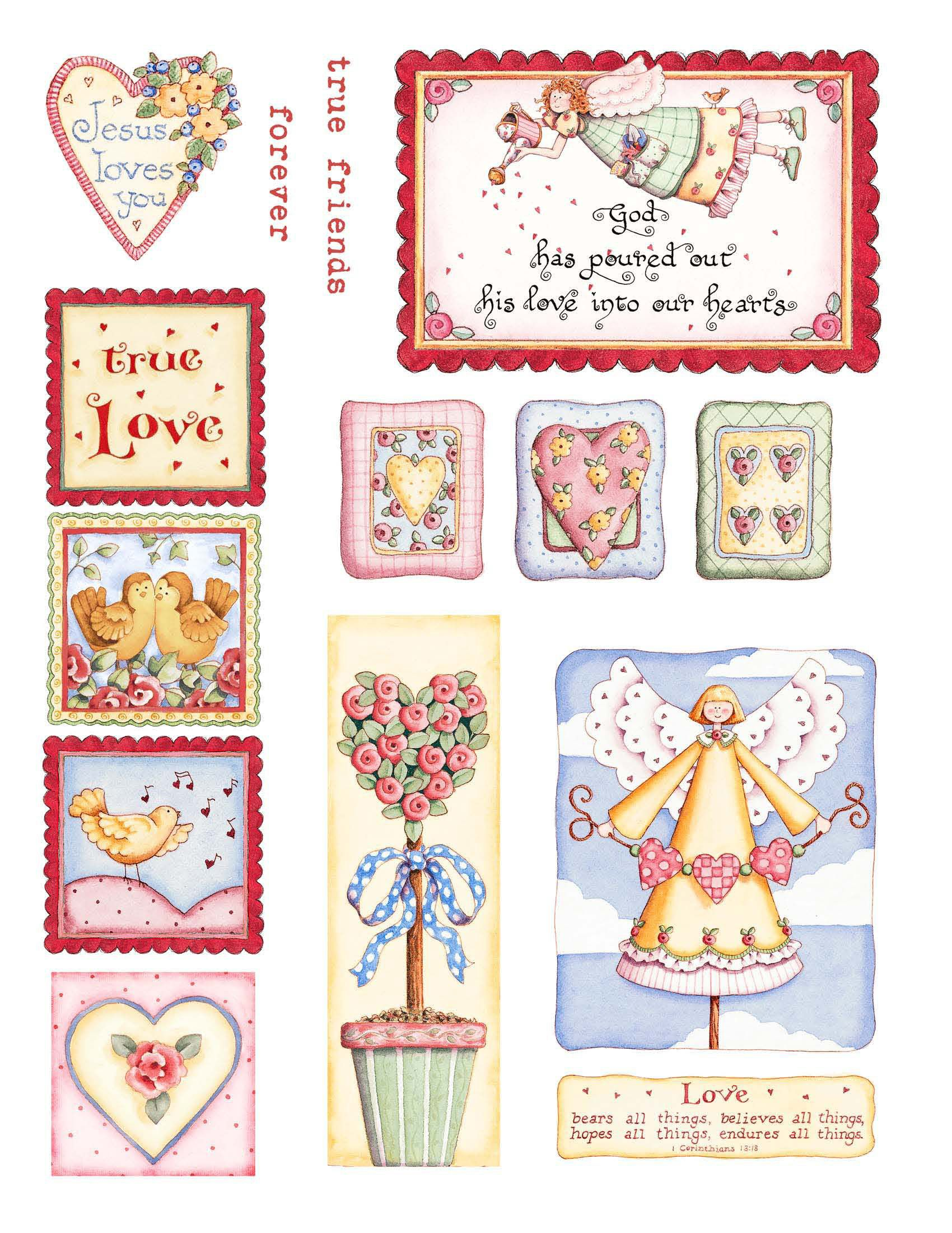Fun Karla Dornacher Printables Perfect For Valentine S Day