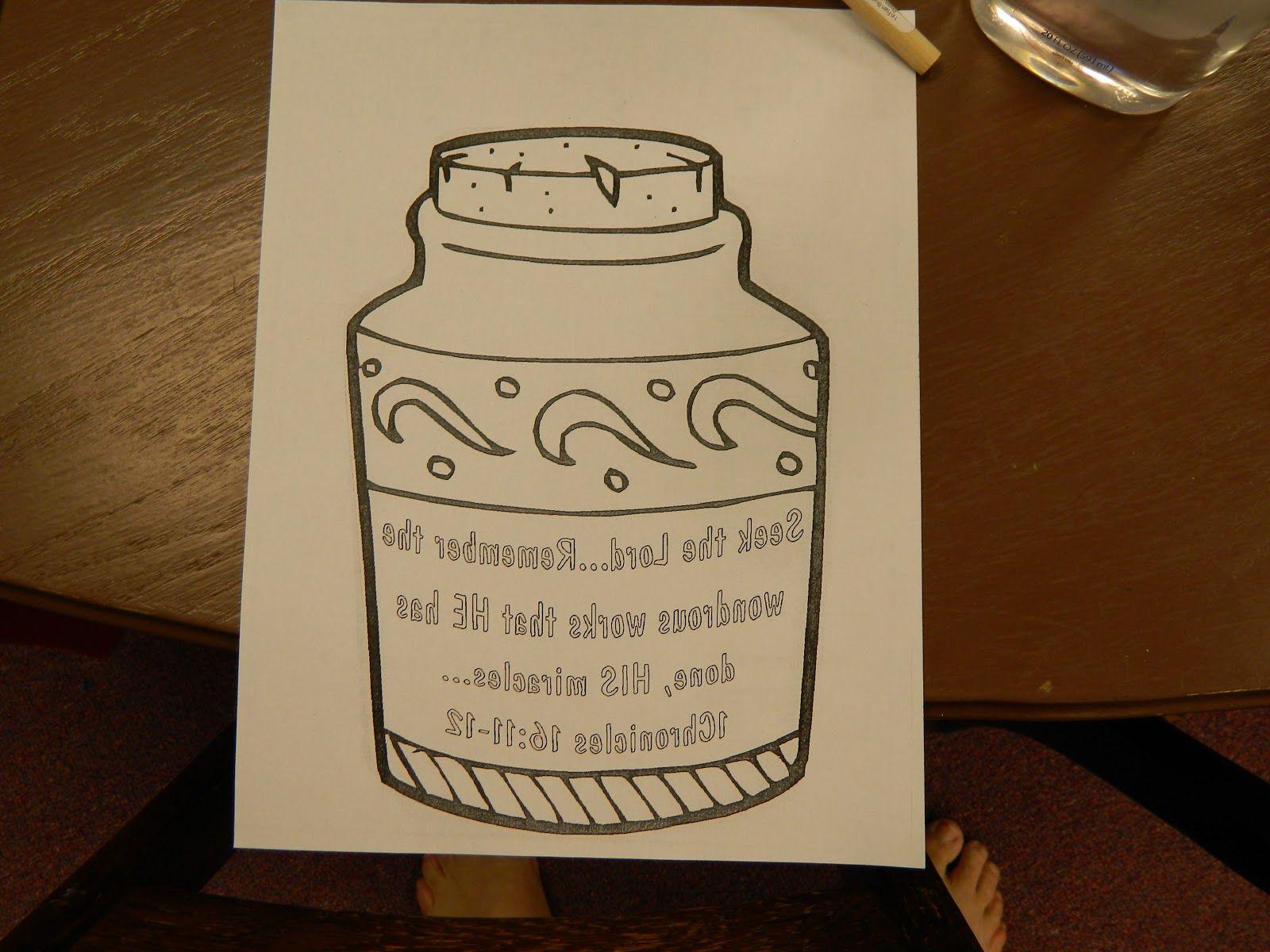 Bible Oil Craft