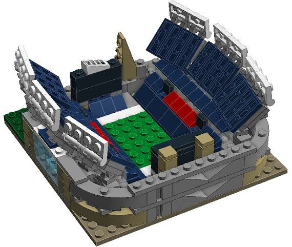 Mini Chicago Cubs Wrigley Field Custom Brick Set by BLOCKStadiums     Behold a MASSIVELY detailed Mini Gillette Stadium model made entirely from  LEGO bricks that you need