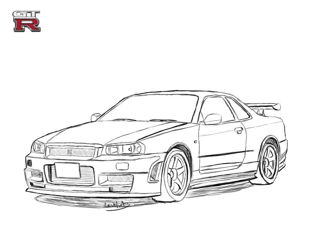 Dream Car Drawings