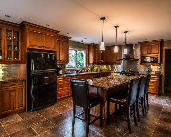 kitchens with black appliances photos bing images kitchens with black appliances pinterest on kitchen remodel appliances id=40486