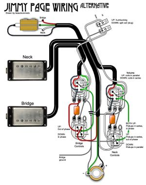 Jimmy Page Wiring Diagram  Somurich