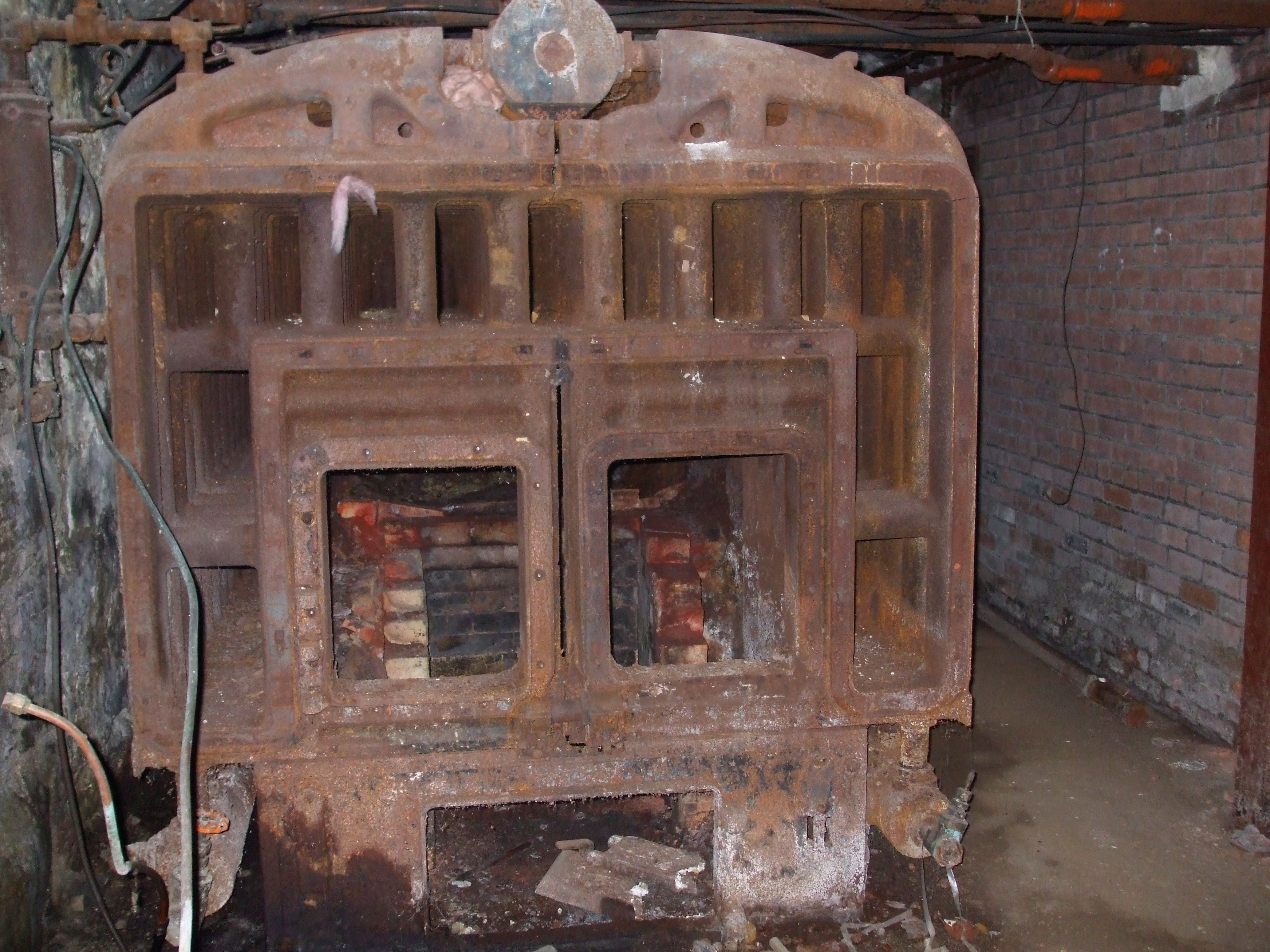 Do You Believe This Old Furnace It Used To Heat A