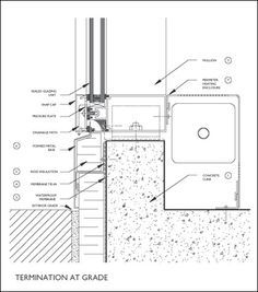 Curtain Wall Base Detail Google Search