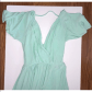 Asos mint green maxi dress worn one time in great condition mint