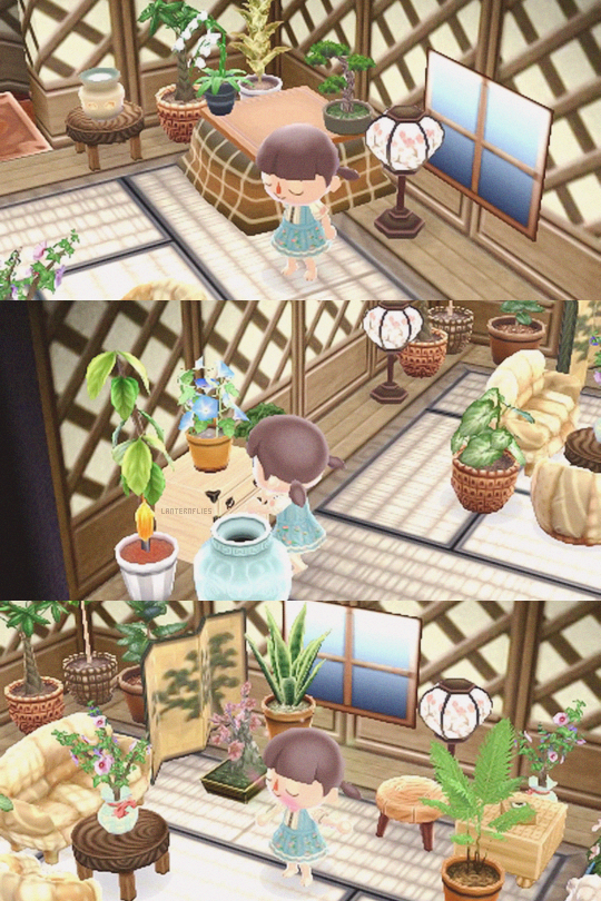 upstairs is finally finished!   ACNL house goals ... on Animal Crossing Living Room Ideas  id=19770