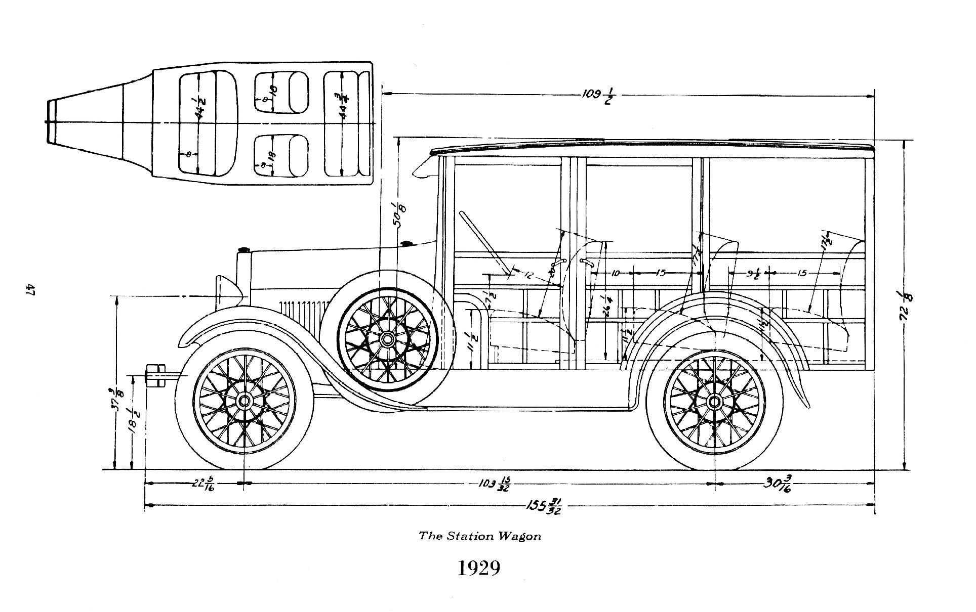 Ford Model A Station Wagon Image