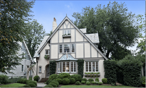 This Tudor Style Color Of Exterior Paint Is Most Similar To My New House I