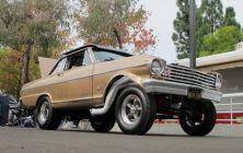 Chevy Nova Gasser Drag Cars   National Car BG