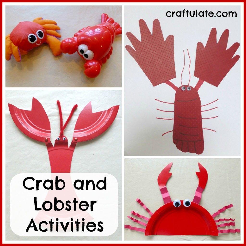 Crab Worksheet Preschool