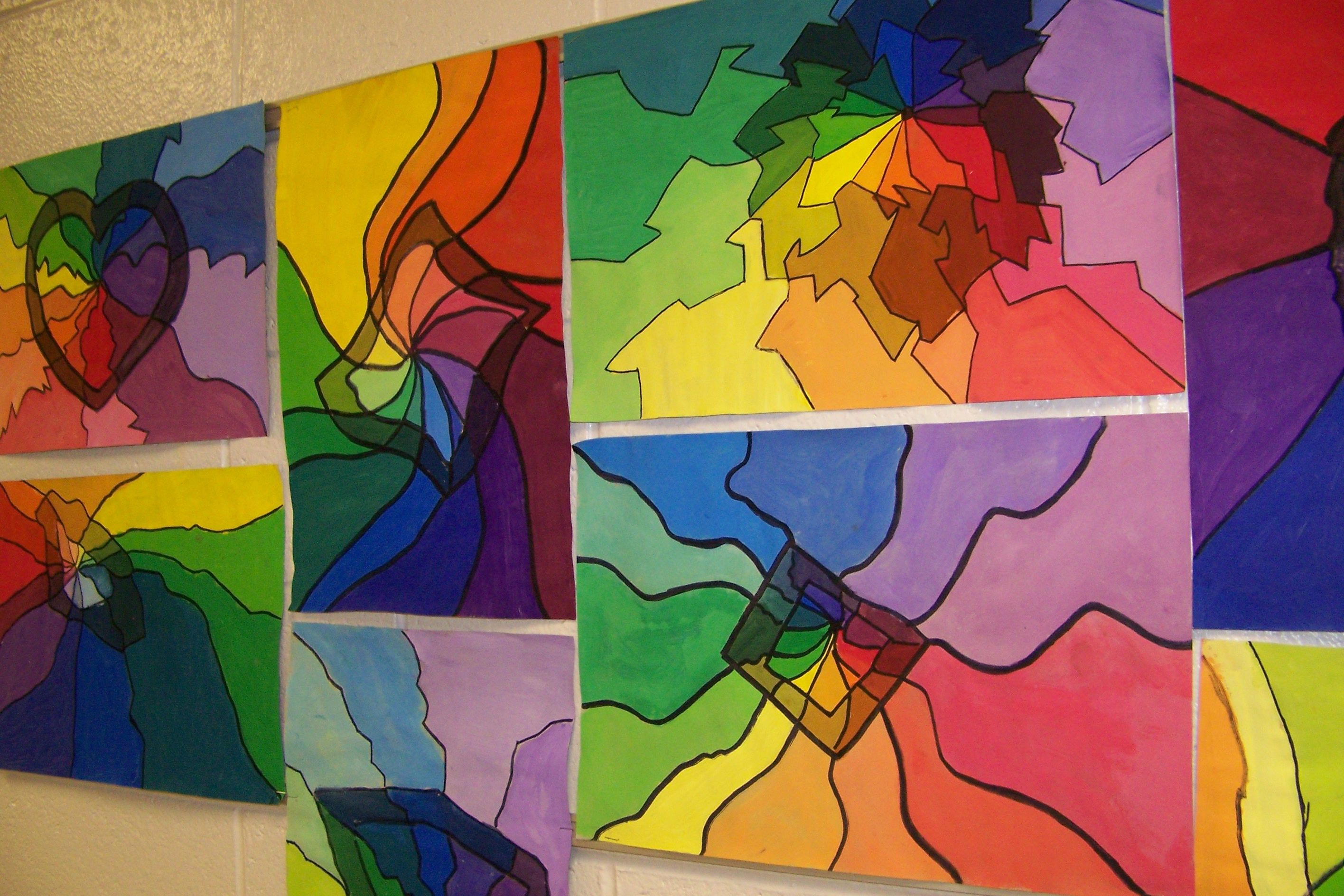 High School Art Lesson Color Theory
