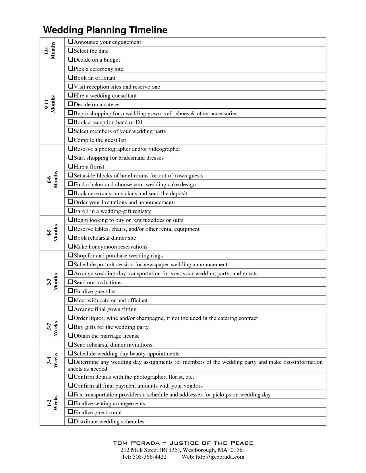 Wedding Reception Timeline Template G8nfrcl9