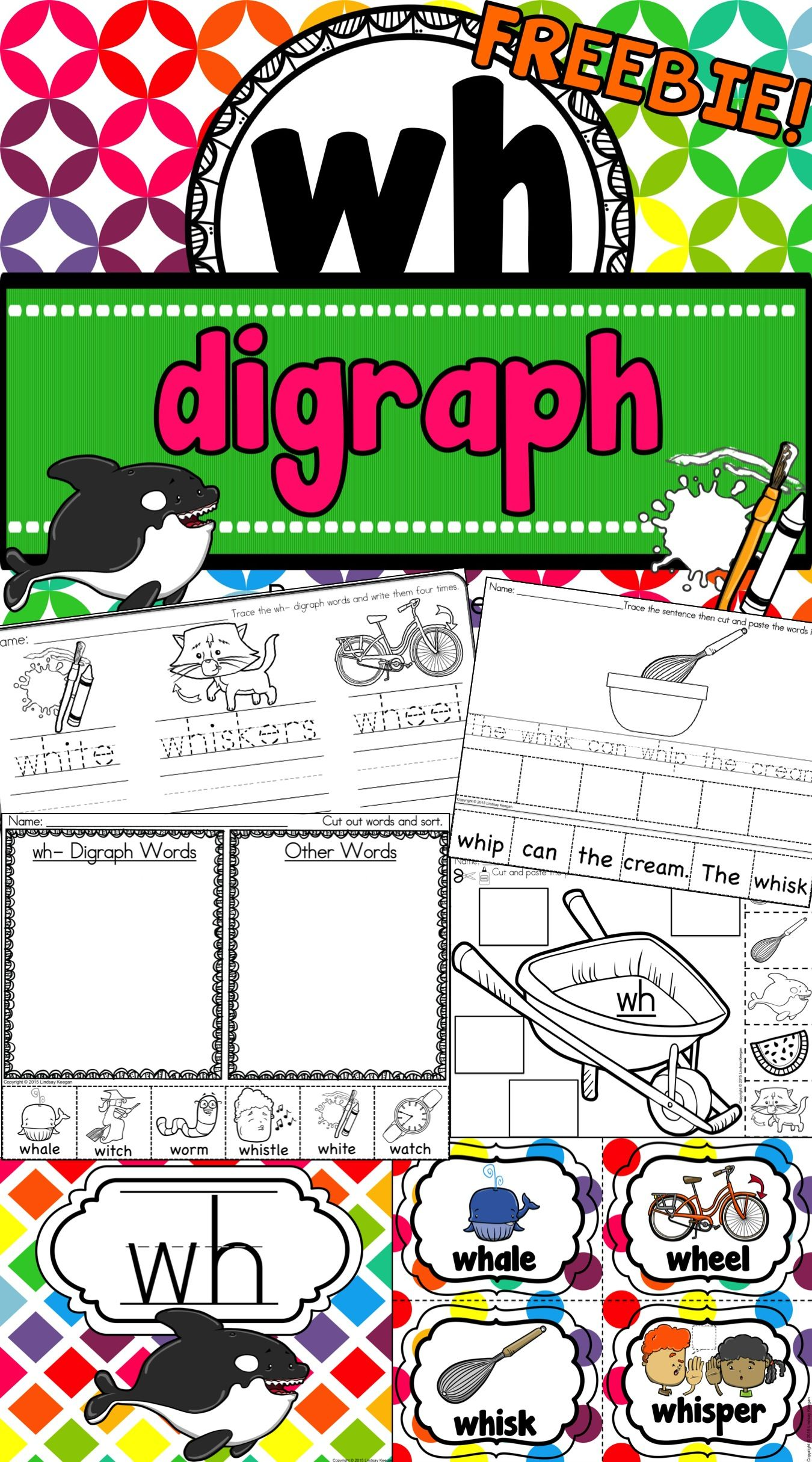 Freebie This Wh Digraph Resource Is Sure To Be A Hit In