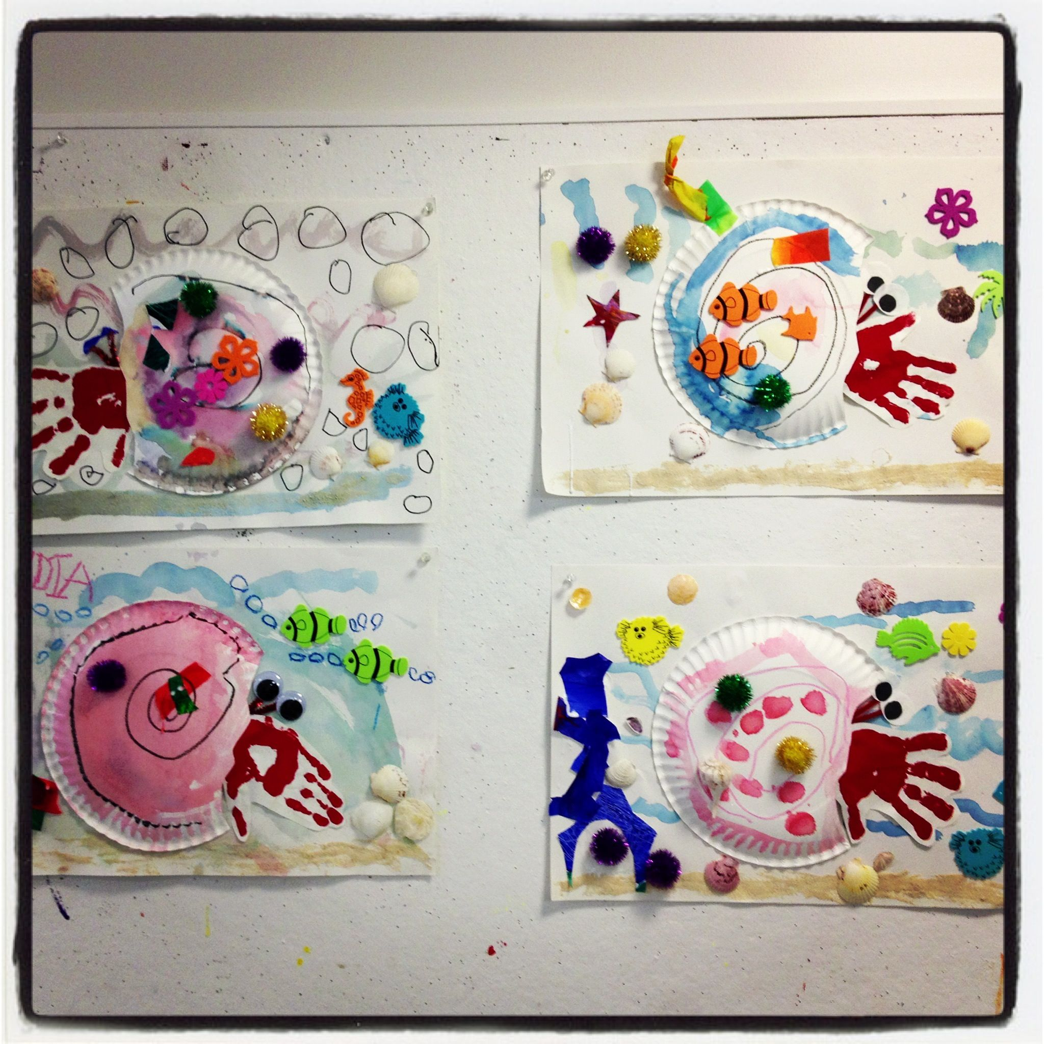 Preschool Eric Carle House For A Hermit Crab Projects From My Mini Monet Class