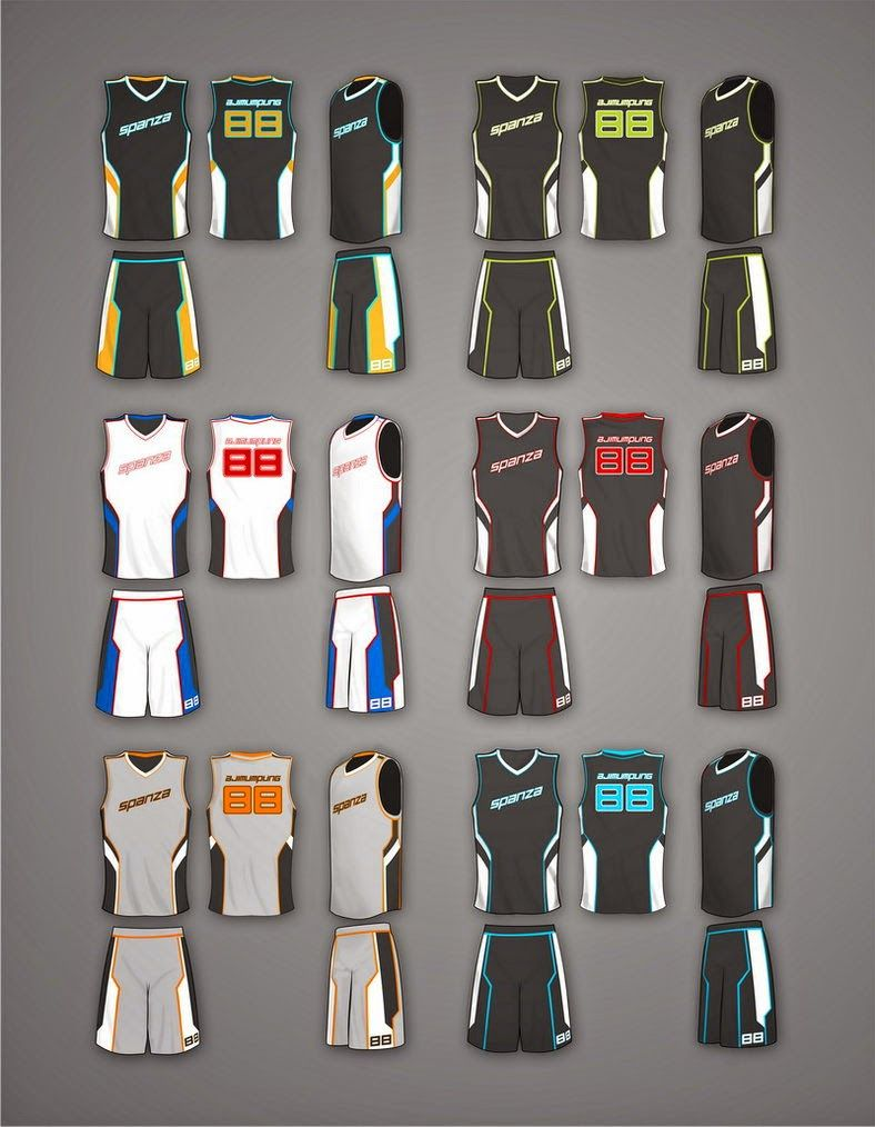 Download Jersey Mockup Desain Baju Basket PSD | Stuff to Buy ...