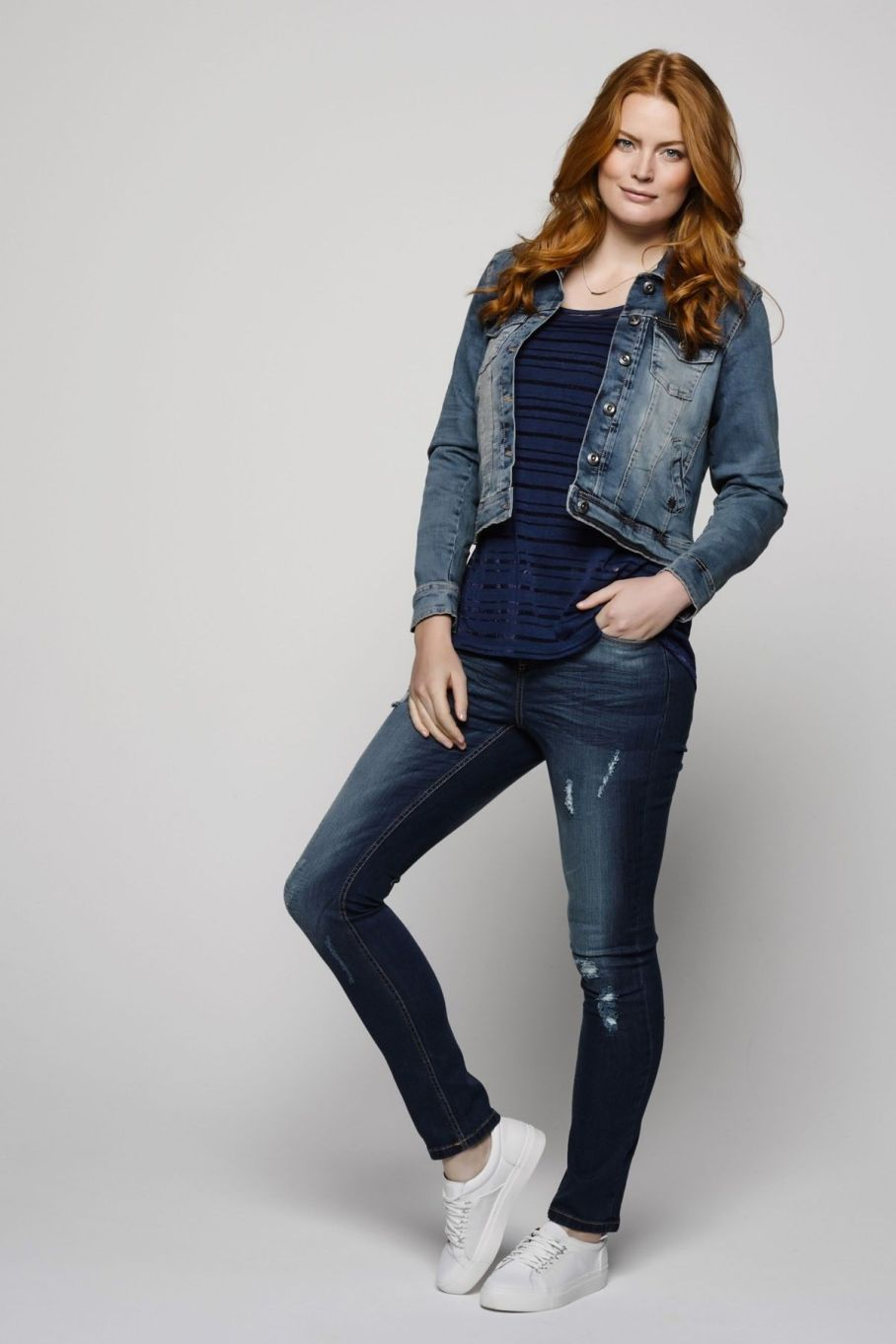 Casual Denim Tienda Online Ms Mode Curvy Outfit Pinterest Clothing
